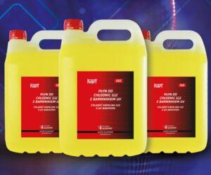 Chladicí kapalina s UV barvivem u firmy HART