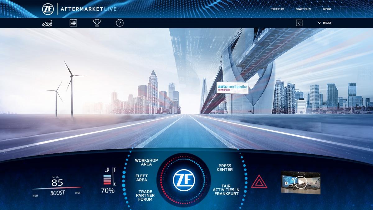 ZF Aftermarket Live na veletrhu Automechanika