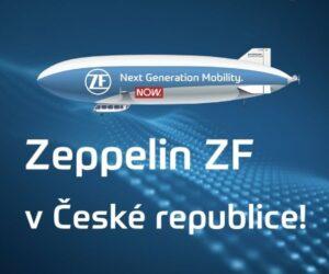 ZEPPELIN ZF nad Českou republikou!