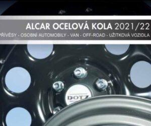 Nové tištěné katalogy ocelových kol ALCAR Stahlrad
