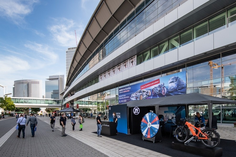 Automechanika Frankfurt 2021 hala