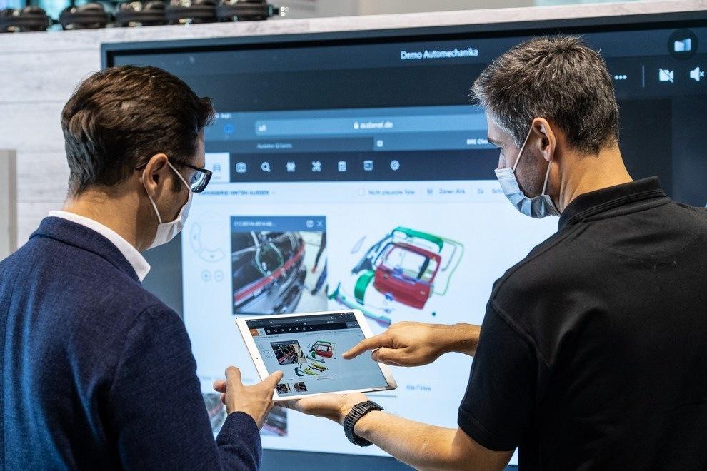 Automechanika Frankfurt 2021 hybridní verze
