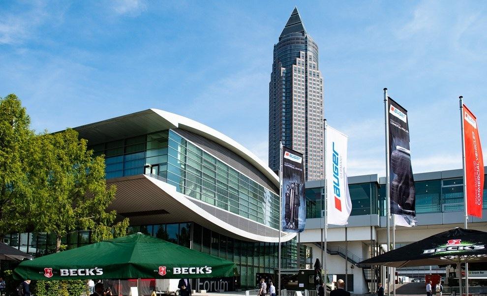 Automechanika Frankfurt 2021 scenerie