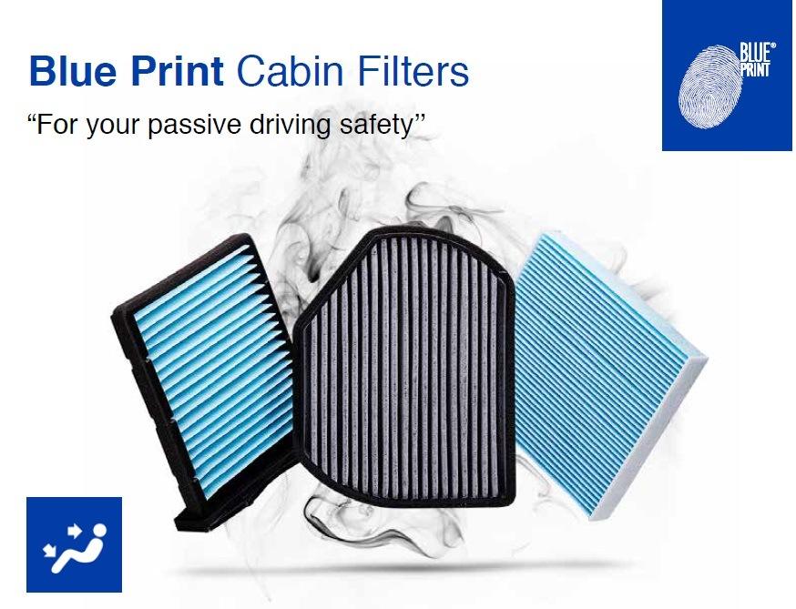 Kabinové filtry Blue Print