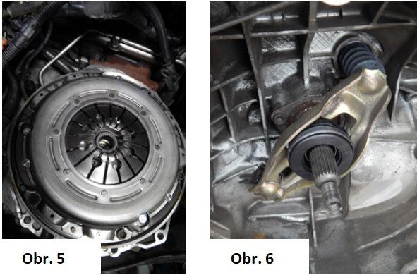 Výměna spojky na Audi A4 6