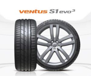 Pneumatiky Hankook Ventus S1 evo 3 vyhrály test letních pneumatik časopisu Auto Express