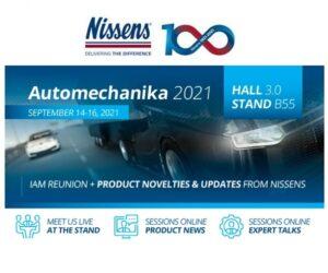Nissens na veletrhu Automechanika 2021
