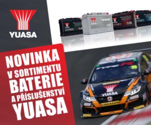 Novinka v sortimentu AD PARTNER: Baterie a příslušenství YUASA