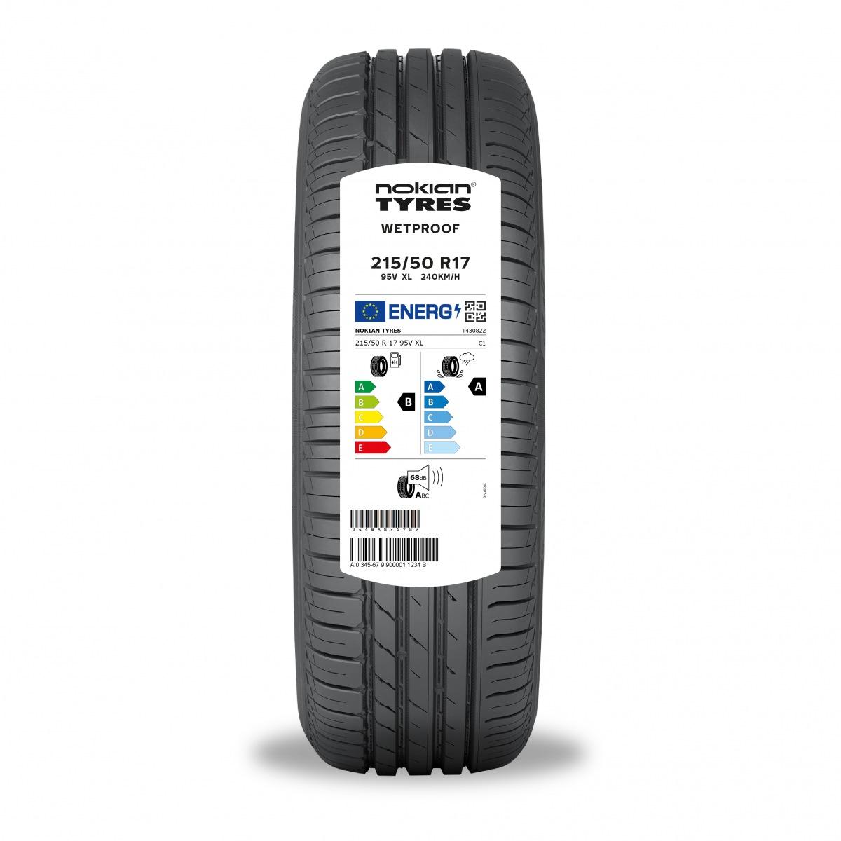 Označení na pneumatikách Nokian Tyres