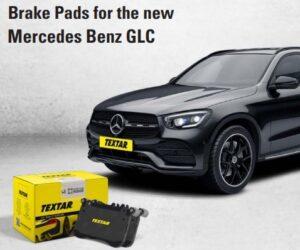 Brzdové destičky Textar pro nový Mercedes Benz GLC