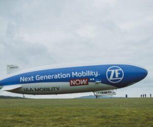 Vzducholoď ZF Zeppelin brázdila po nebi České republiky – ZF propagovalo mobilitu příští generace
