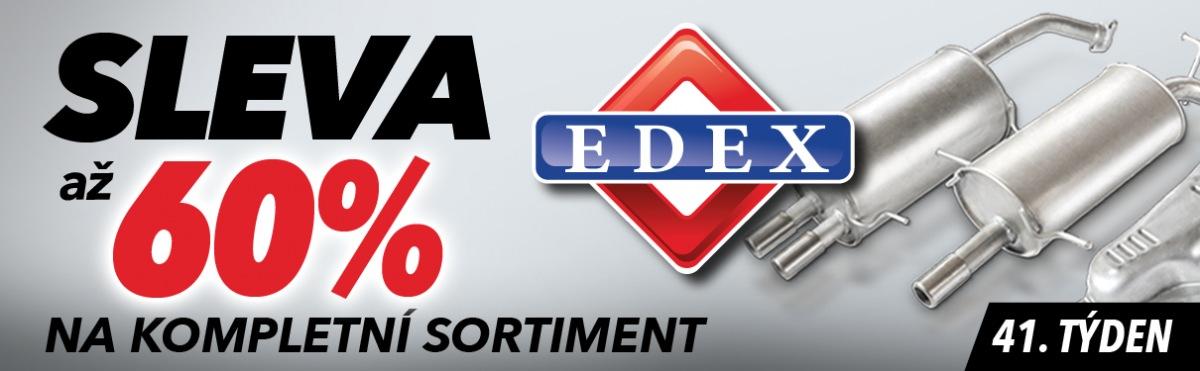J+M autodíly: Až 60% slevy na kompletní sortiment EDEX