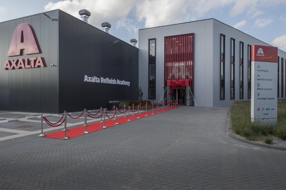 nové sídlo Axalty v Nizozemsku