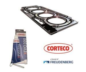 Statická těsnění a silikonové pasty CORTECO