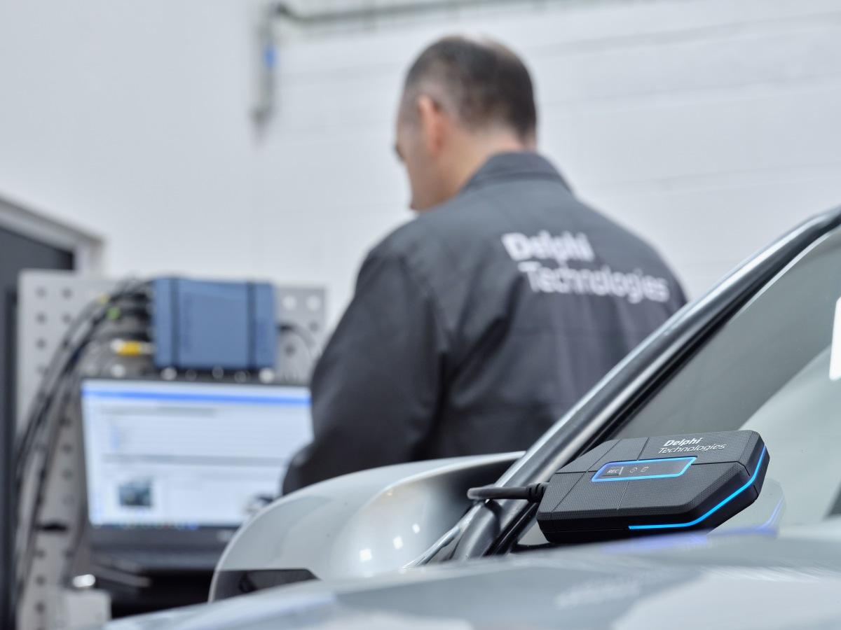 diagnostické zařízení BlueTech od Delphi