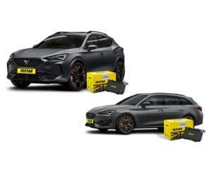 Nové brzdové destičky Textar pro vozy Cupra Formentor a Leon